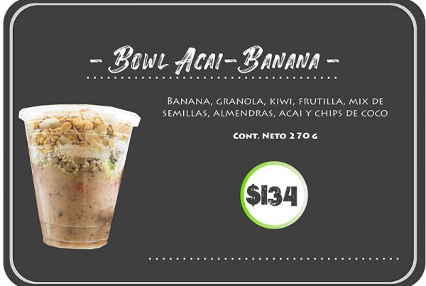 Bowl Açai Banana